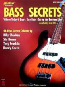 Bass Secrets: Where Today's Bass Stylists Get to the Bottom Line als Taschenbuch