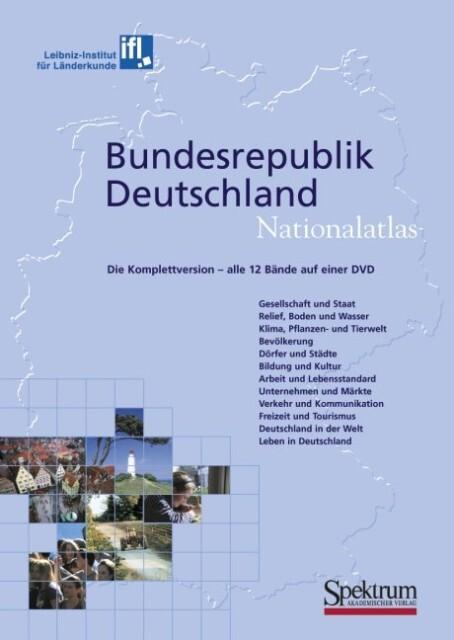 Bundesrepublik Deutschland, Nationalatlas, 1 DV...
