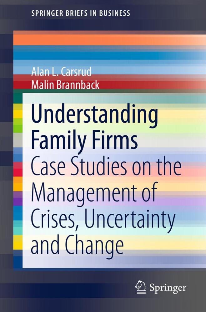 Understanding Family Firms als Buch von Malin B...