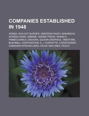 Companies established in 1948 als Taschenbuch von