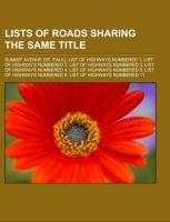 Lists of roads sharing the same title als Tasch...