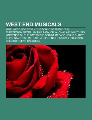 West End musicals als Taschenbuch von