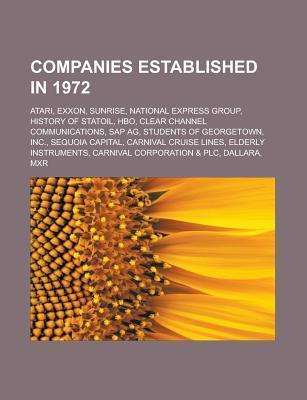 Companies established in 1972 als Taschenbuch von