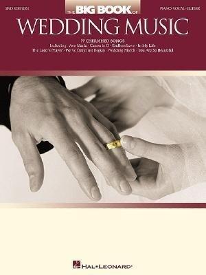 The Big Book of Wedding Music als Taschenbuch