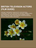 British television actors (Film Guide) als Tasc...