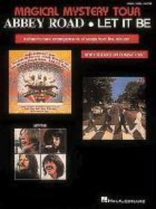 The Beatles - Magical Mystery Tour/Abbey Road/Let It Be als Taschenbuch