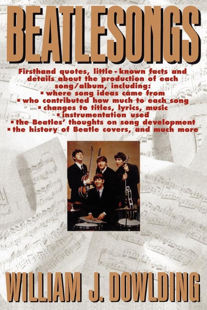 Beatlesongs als Buch