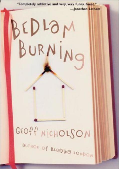 Bedlam Burning als Buch
