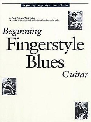 Beginning Fingerstyle Blues Guitar als Taschenbuch