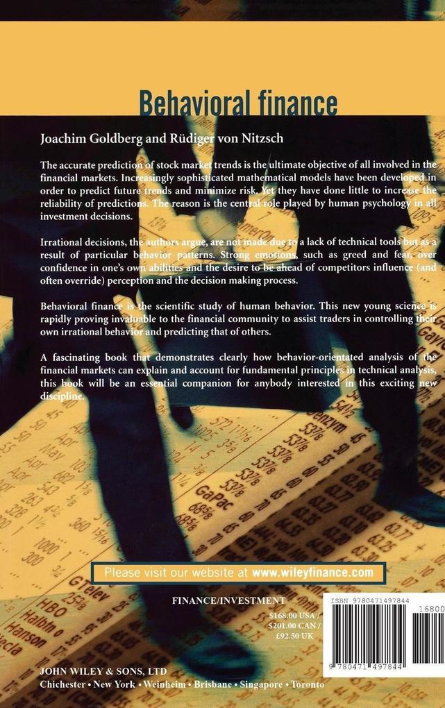 Behavioral Finance als Buch