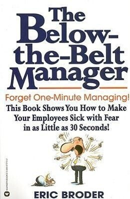 The Below-The-Belt Manager als Taschenbuch