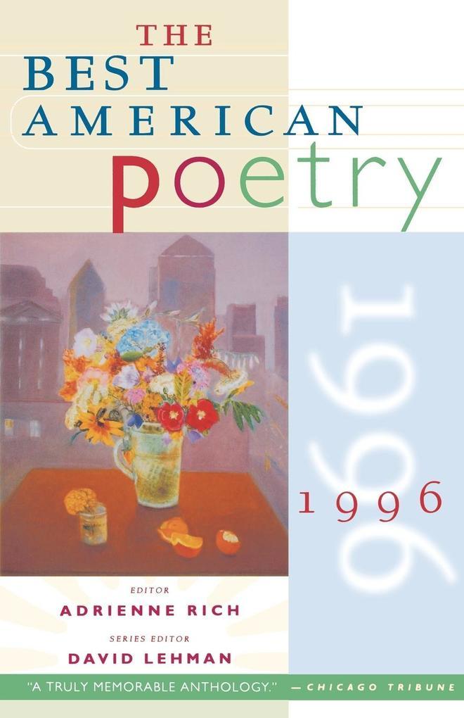 The Best American Poetry 1996 als Taschenbuch