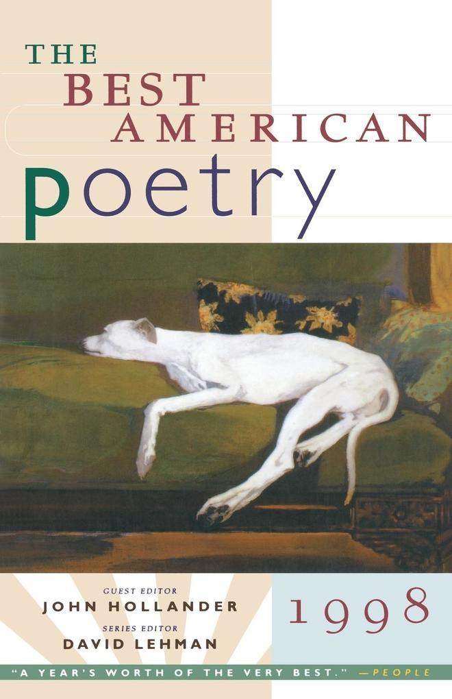 The Best American Poetry als Taschenbuch