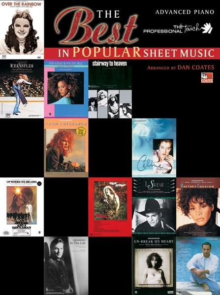 The Best in Popular Sheet Music als Taschenbuch