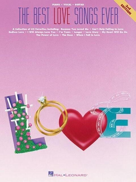 The Best Love Songs Ever Pvg Songbook als Taschenbuch