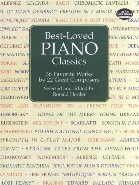 Best-Loved Piano Classics: 36 Favorite Works by 22 Great Composers als Taschenbuch