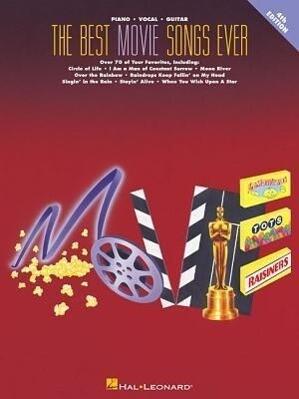 The Best Movie Songs Ever Songbook als Taschenbuch
