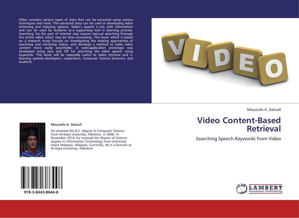 Video Content-Based Retrieval als Buch von Mous...