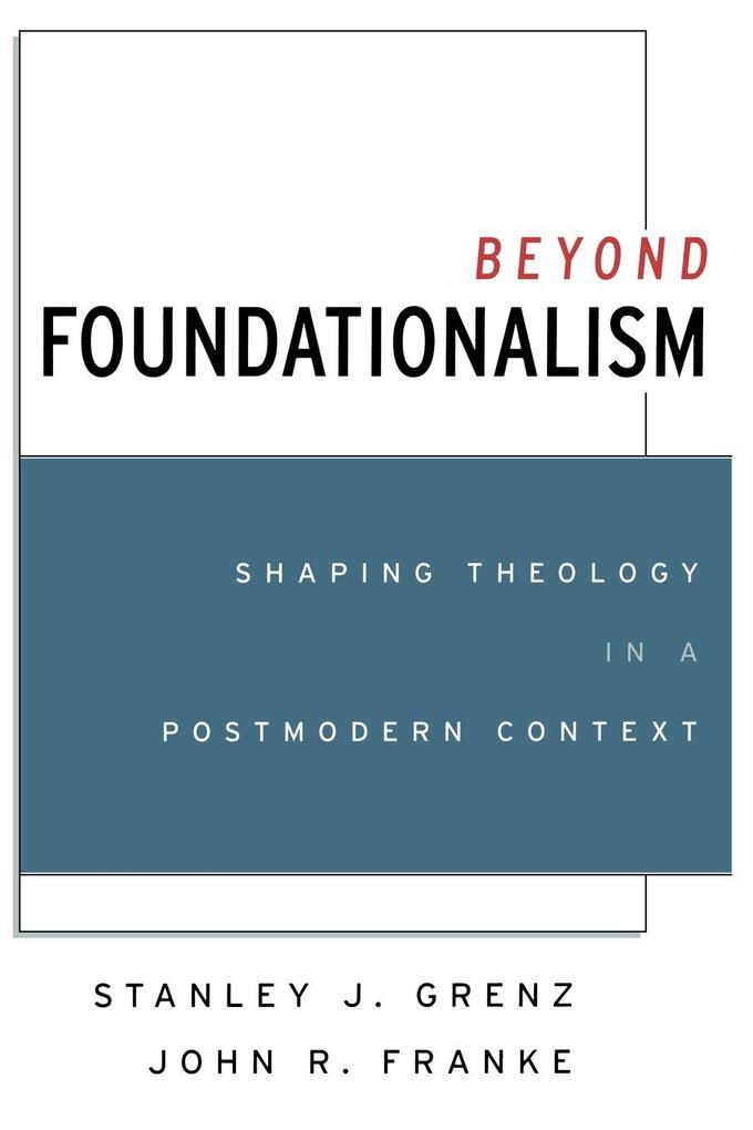 Beyond Foundationalism als Taschenbuch