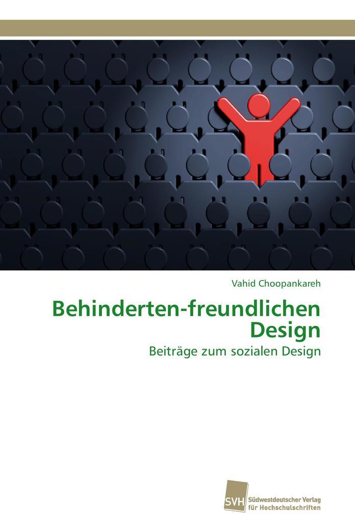 Behinderten-freundlichen Design als Buch von Va...