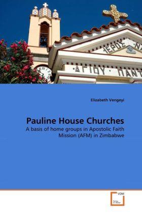 Pauline House Churches als Buch von Elizabeth V...