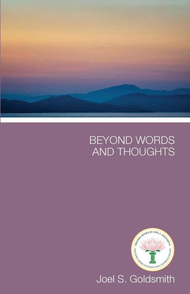 Beyond Words and Thoughts als Taschenbuch