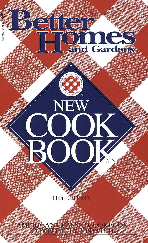 Better Homes and Gardens New Cook Book als Taschenbuch