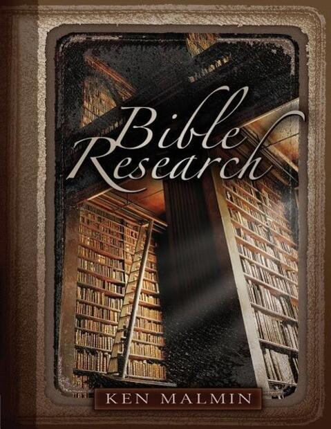 Bible Research als Taschenbuch