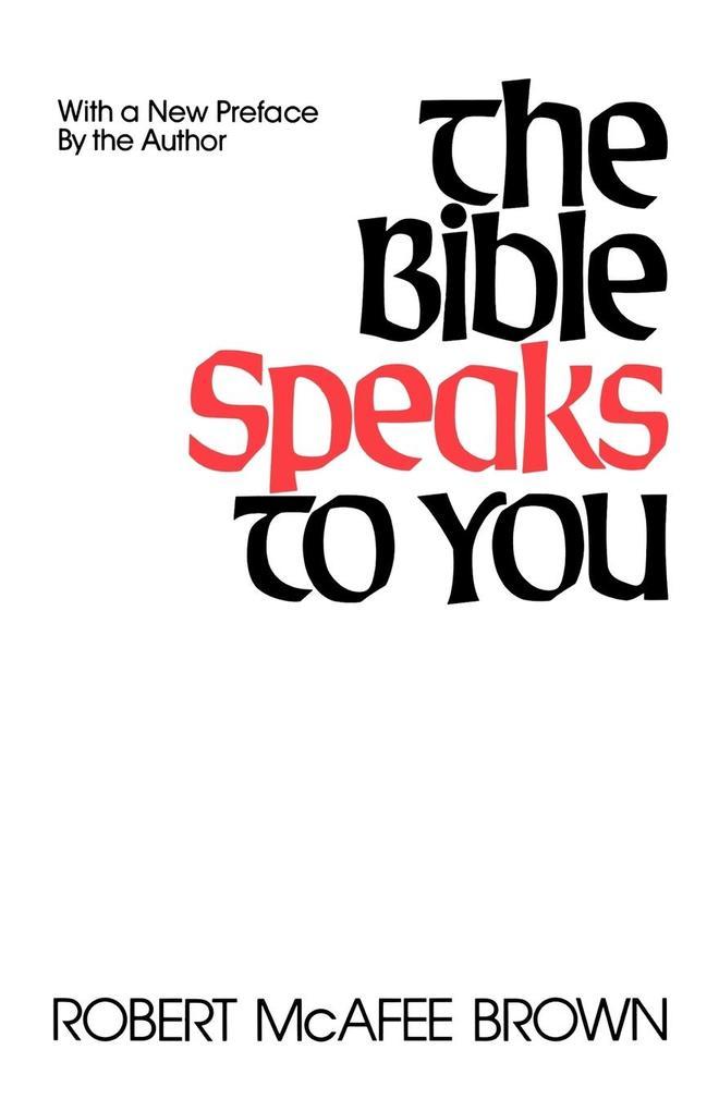 Bible Speaks to You als Taschenbuch