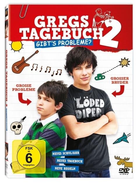 Gregs Tagebuch 2 - Gibts Probleme? als DVD