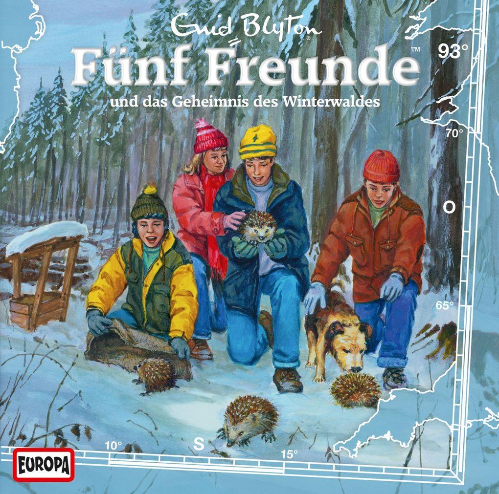 Fünf Freunde 093 und das Geheimnis des Winterwaldes als Hörbuch