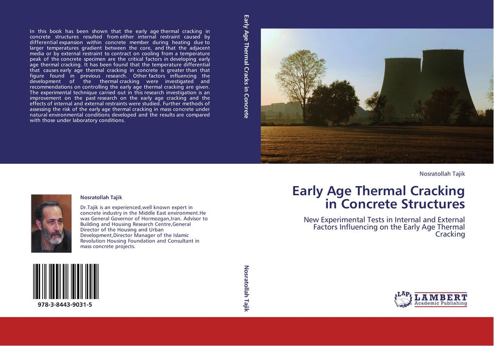 Early Age Thermal Cracking in Concrete Structur...