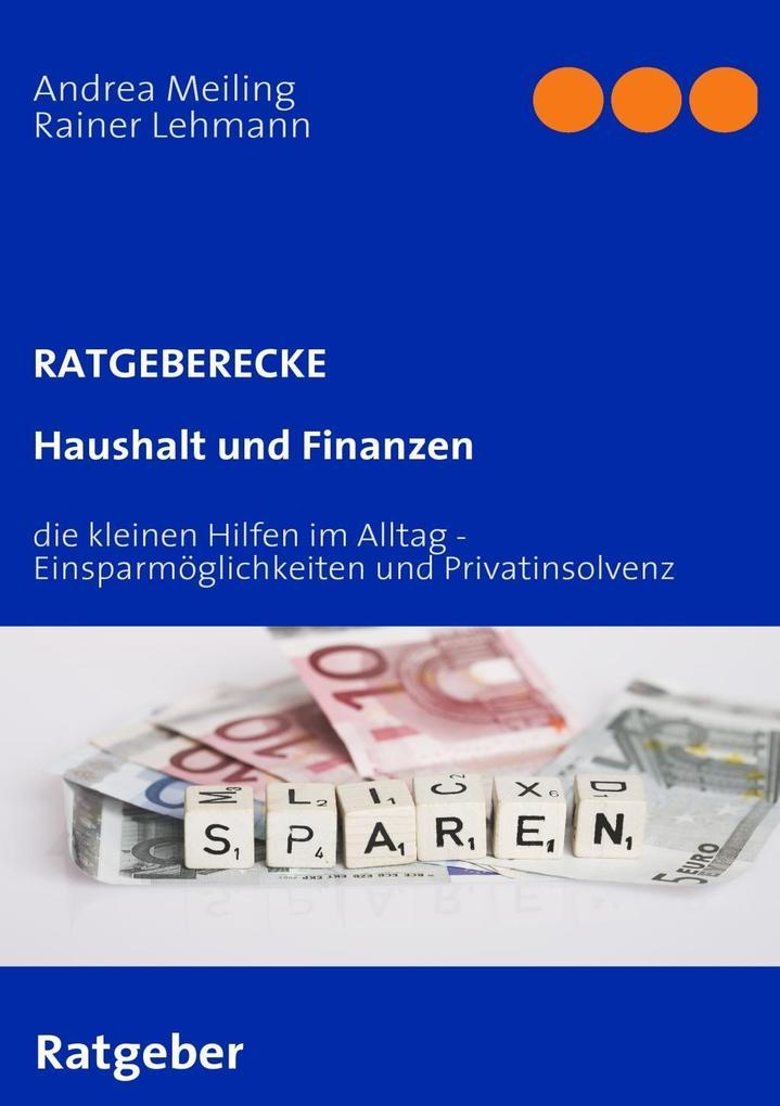 Haushalt und Finanzen als eBook Download von An...