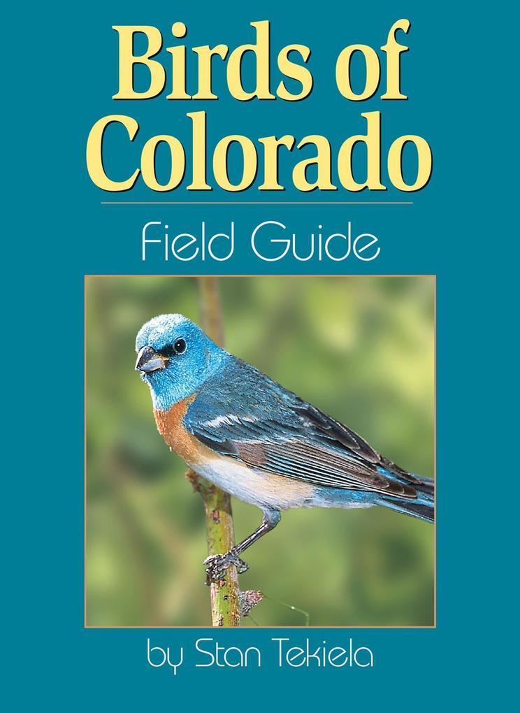 Birds of Colorado Field Guide als Taschenbuch