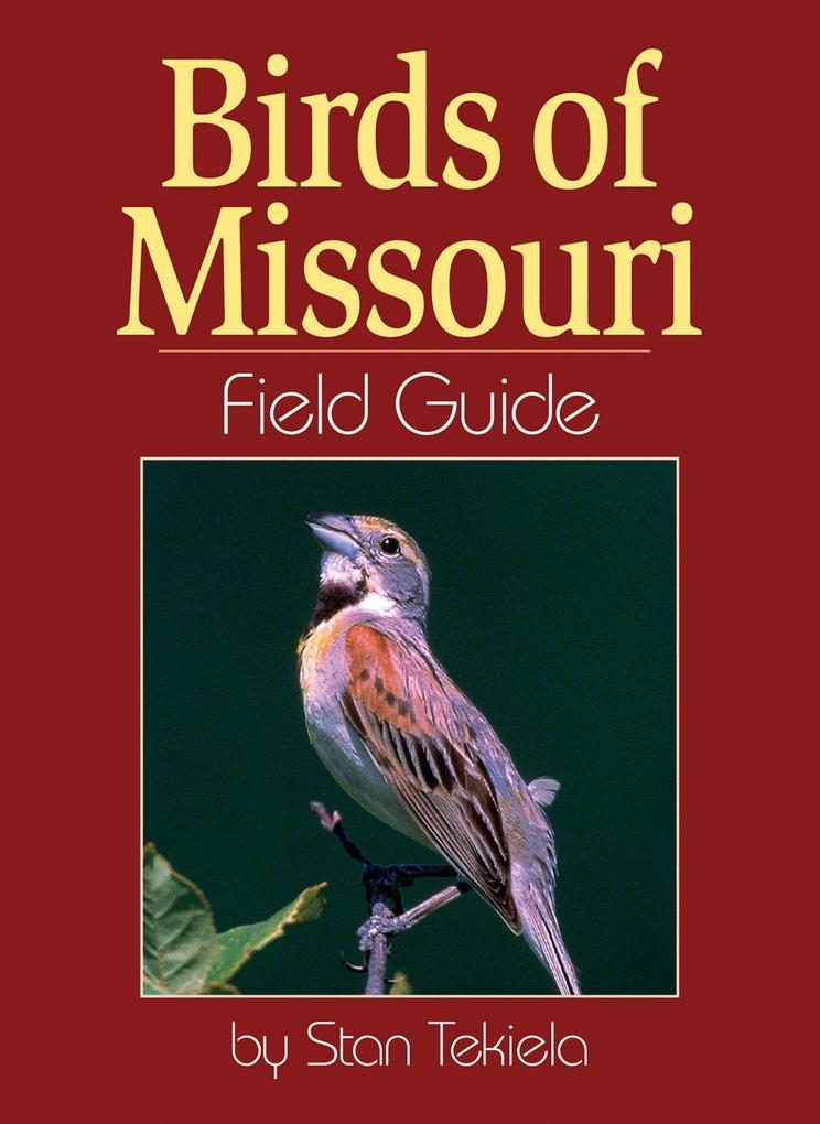 Birds of Missouri Field Guide als Taschenbuch
