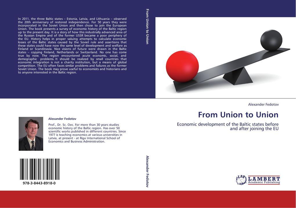From Union to Union als Buch von Alexander Fedotov