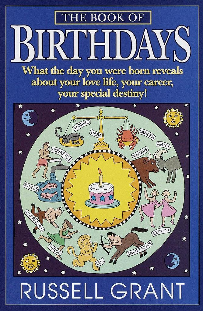 The Book of Birthdays als Taschenbuch