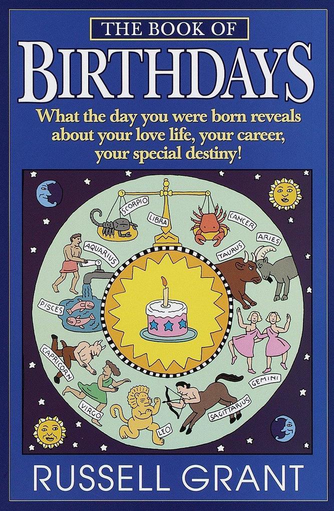 The Book of Birthdays als Taschenbuch