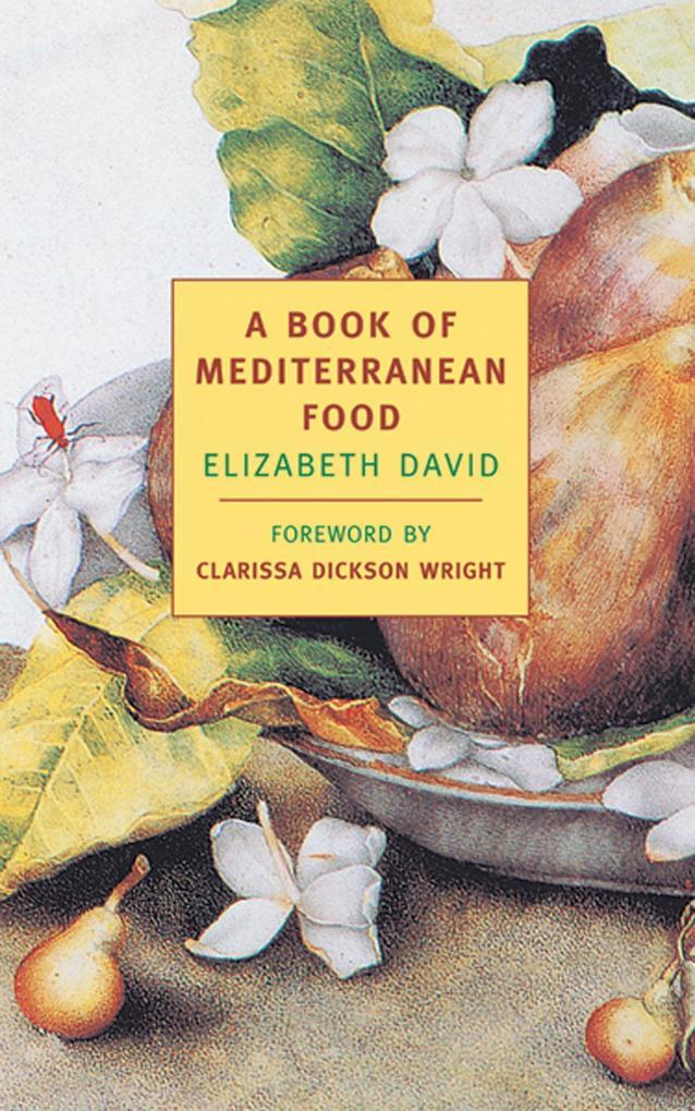 A Book of Mediterranean Food als Taschenbuch