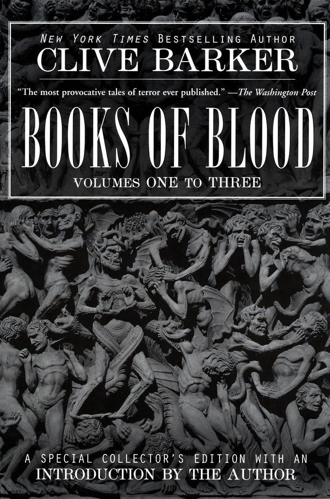 Clive Barker's Books of Blood 1-3 als Taschenbuch
