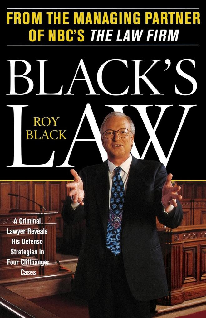 Black's Law als Buch