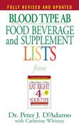 Blood Type AB Food, Beverage and Supplement Lists