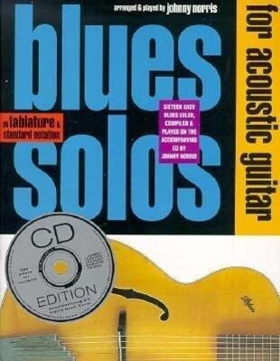Blues Solos For Acoustic Guitar als Taschenbuch