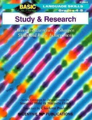 Study and Research als Taschenbuch