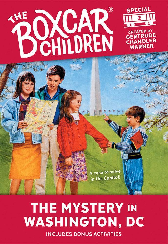 The Mystery in Washington, D.C. als Taschenbuch