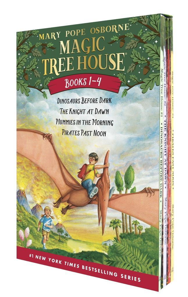 The Magic Tree House 01-04 als Taschenbuch