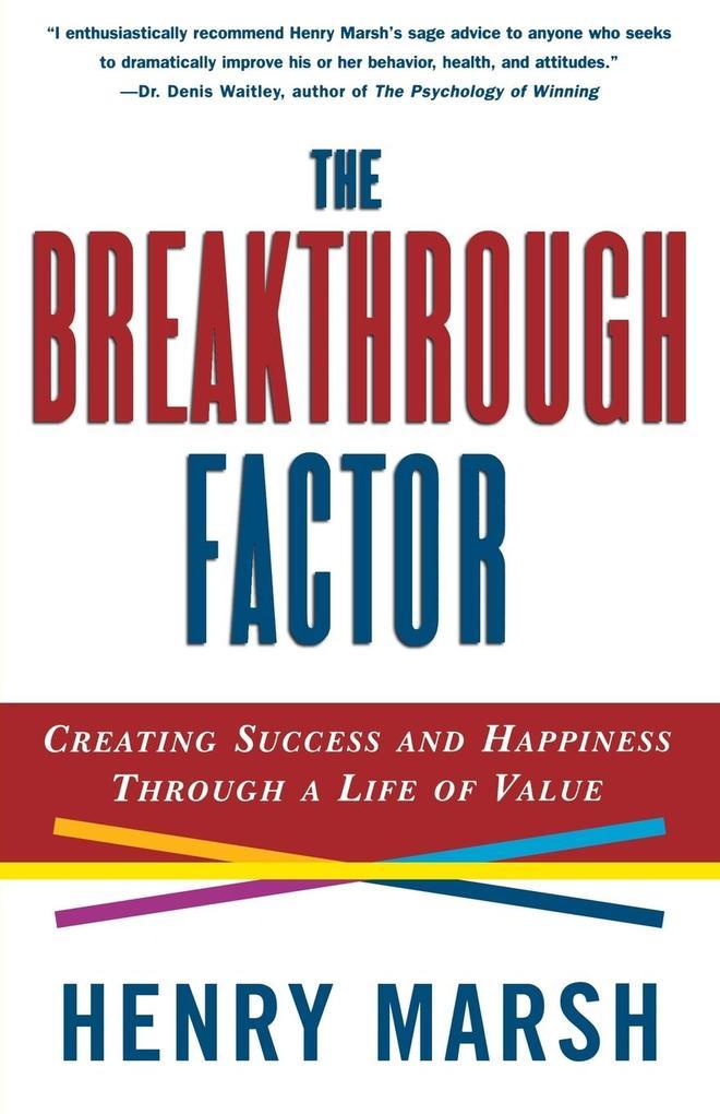 The Breakthrough Factor als Taschenbuch