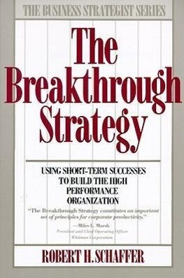 Breakthrough Strategy als Taschenbuch