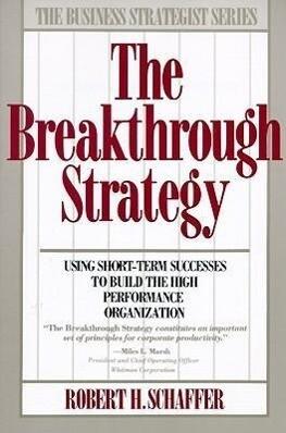 Breakthrough Strategy als Taschenbuch