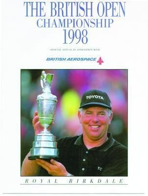 British Open Golf Championship 1998 als Buch